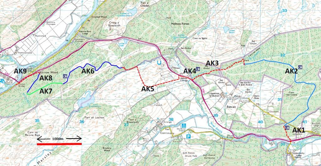 response map